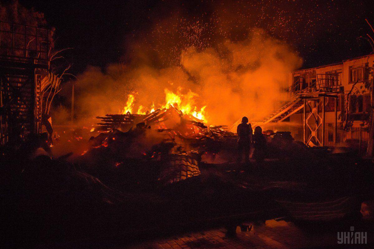 В результате пожара погибли трое детей / фото УНИАН