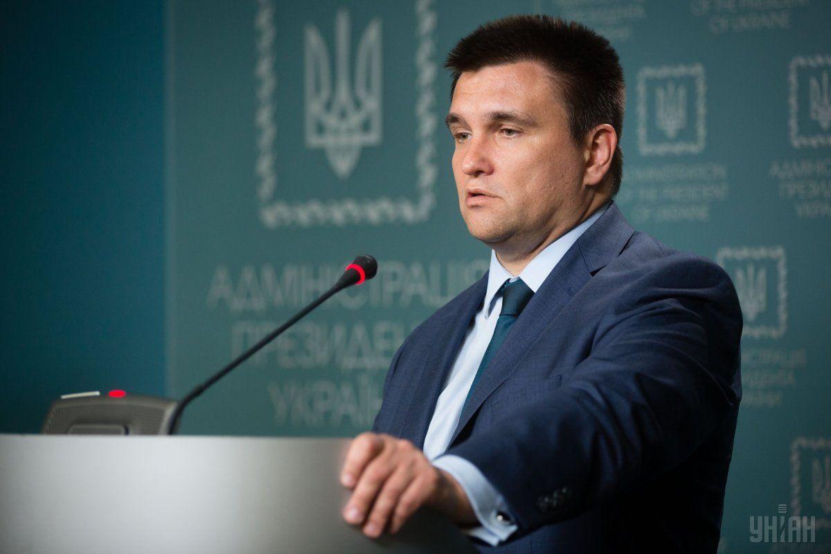 Клімкін заявив, що на розгортання миротворчої міссії знадобиться щонайменше півроку / фото УНІАН