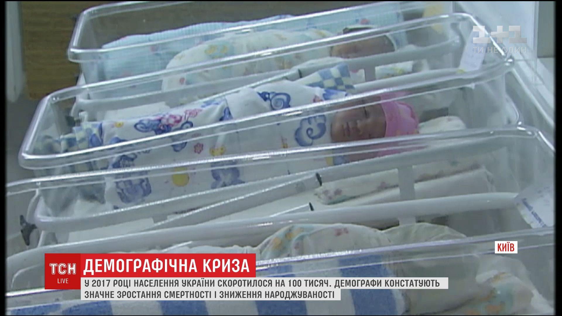 В 2017 году население Украины может уменьшиться на 200 тысяч