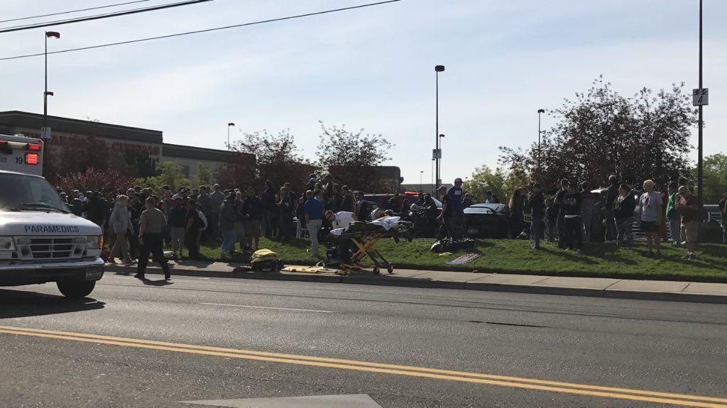В настоящий момент сотрудники полиции проводят расследование обстоятельств инцидента / twitter.com/KatyMoeller