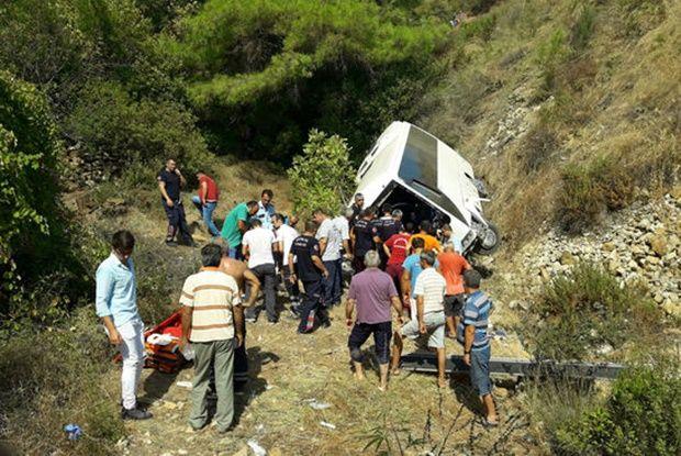 В автобусі їхали 27 іноземних туристів / фото haberturk.com