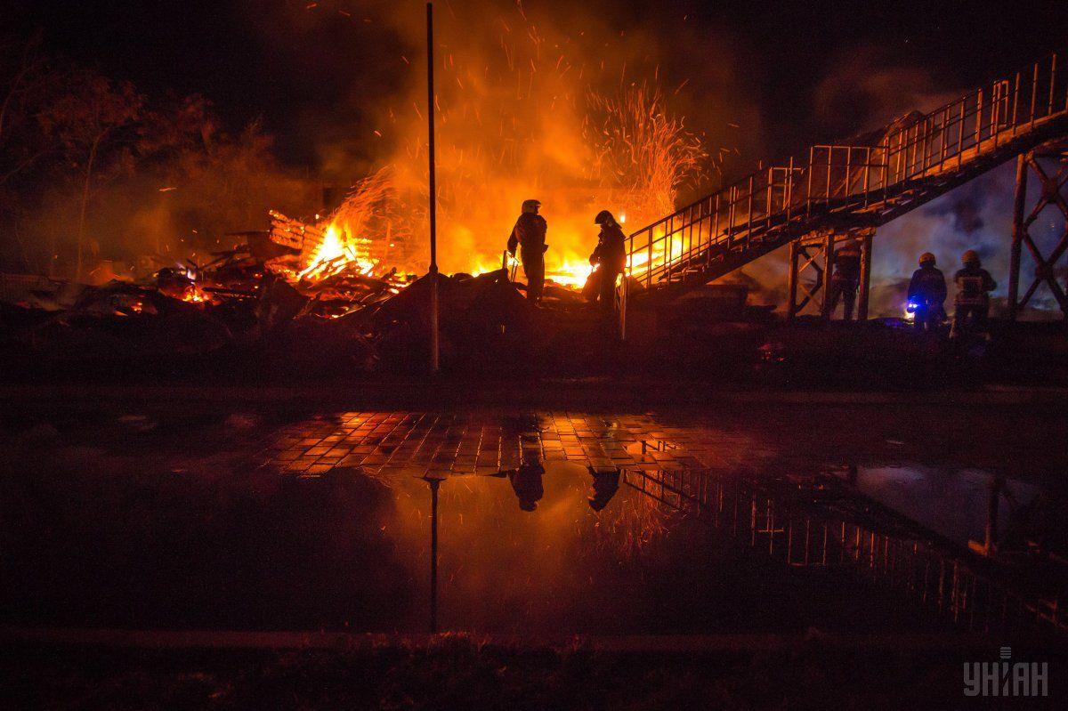 Суд арестовал ответственное за пожарную безопасность / фото УНИАН