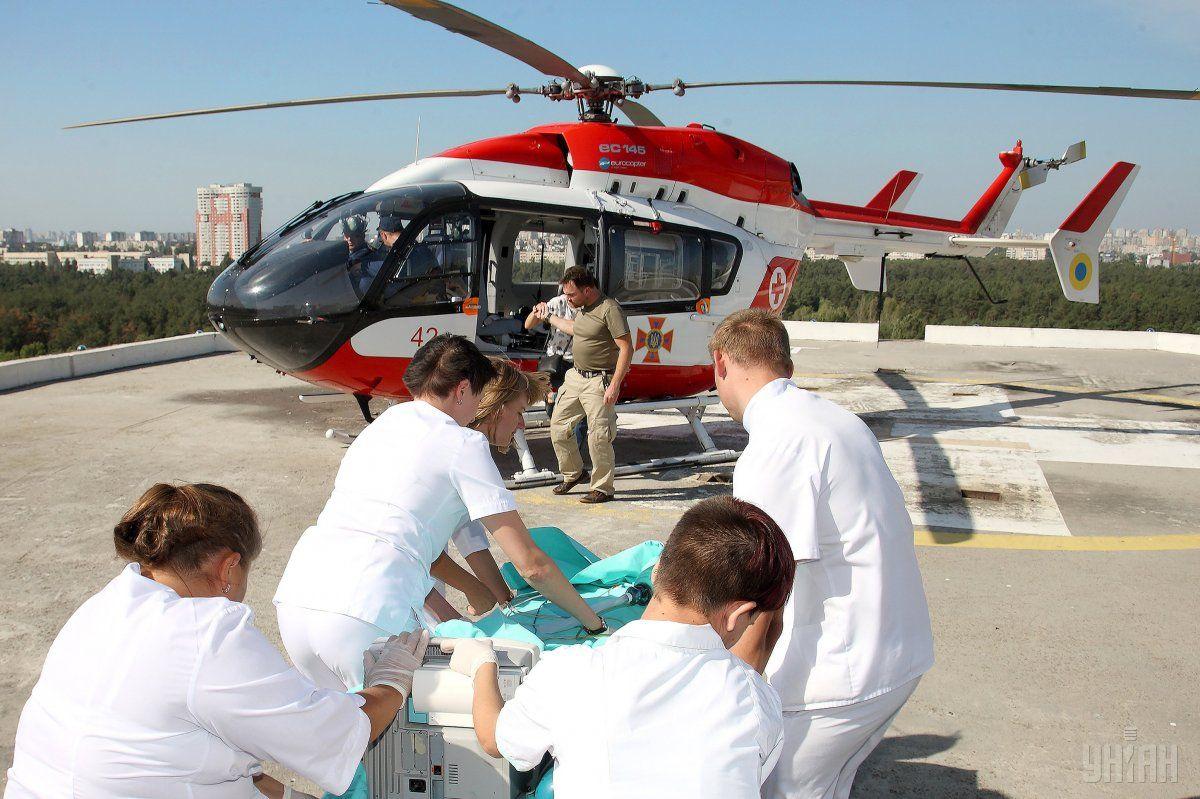 У лікарню доставлено 8-річну дівчинку / фото УНІАН