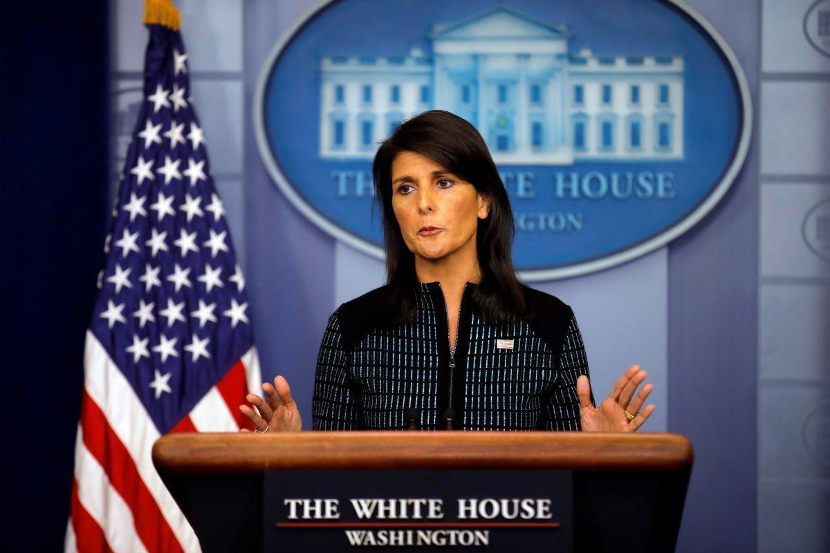 Постпред США при ООН Никки Хейли / REUTERS