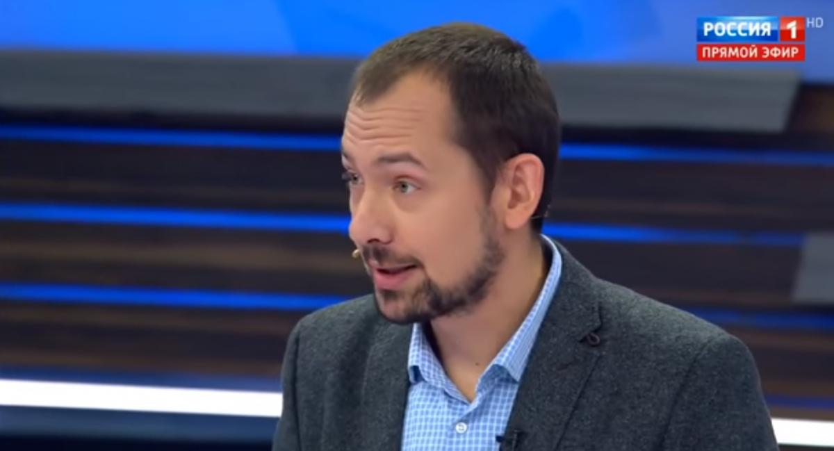 Украинский корреспондент установил наместо пропагандистов росТВ