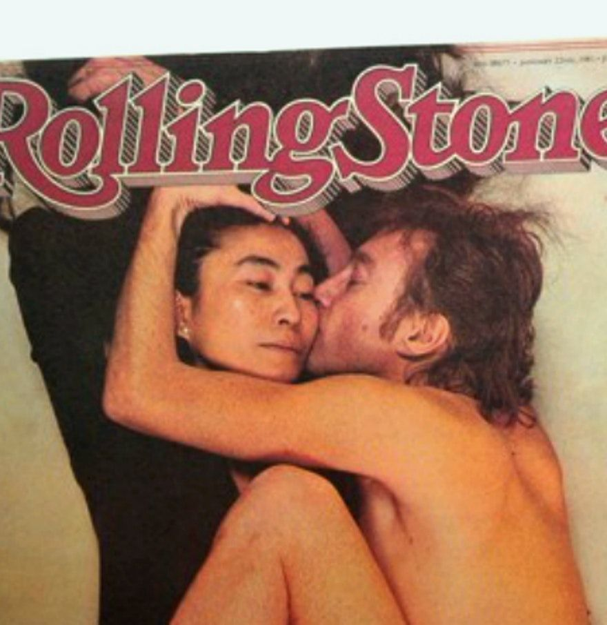Обложка журнала Rolling Stone с Джоном Ленноном и Йоко Оно за 22 января 1981 года / фото Everything But The House