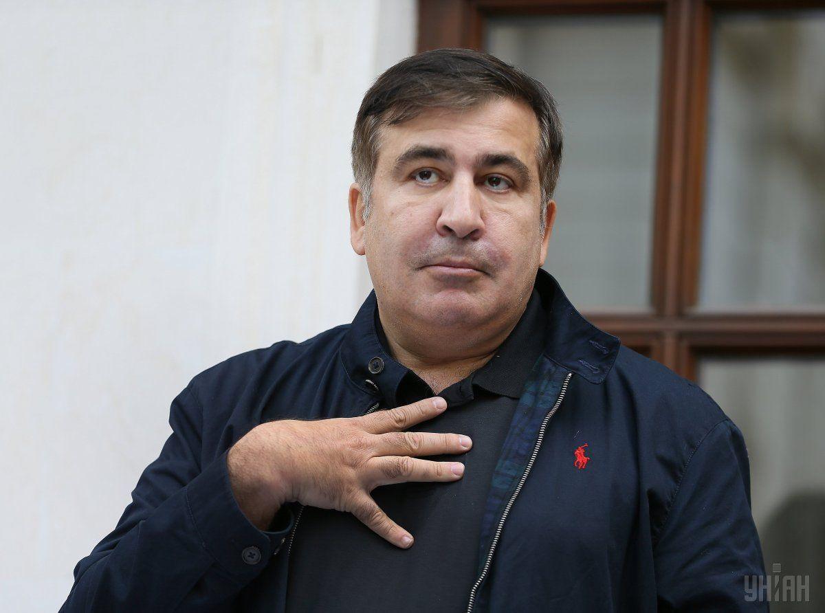 Саакашвілі заявив, щобуде оскаржувати указ Порошенка всуді