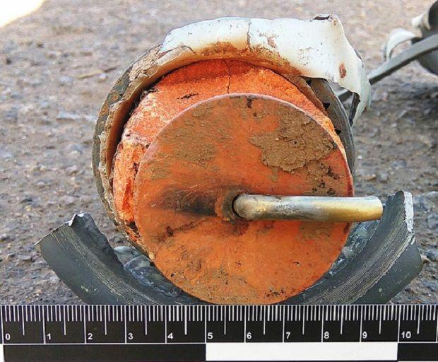 Чоловік заявив, що знайшов вибухівку випадково / фото mk.npu.gov.ua