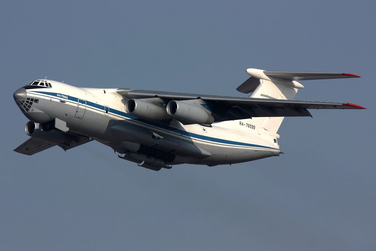 Ил-76 нарушили воздушное пространство Литвы / фото wikipedia.org