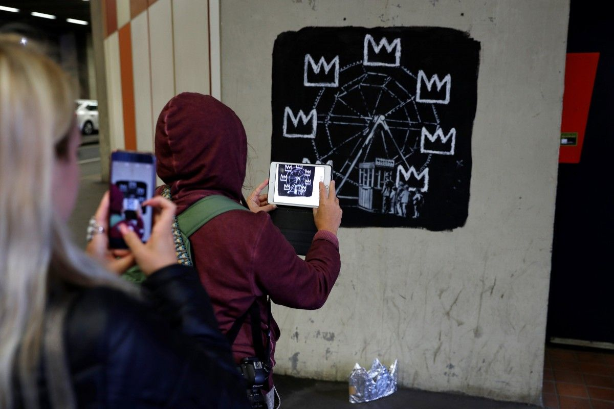 Графіті Бенксі / REUTERS