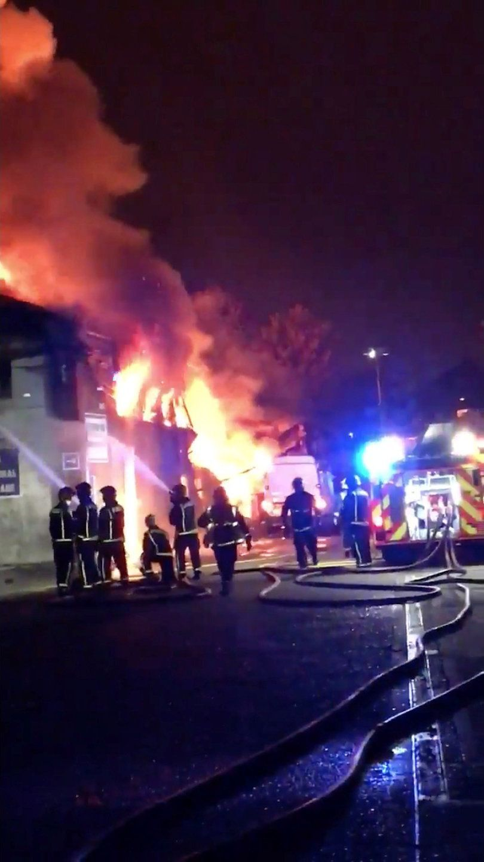 Причини пожежі наразі встановлюються / REUTERS