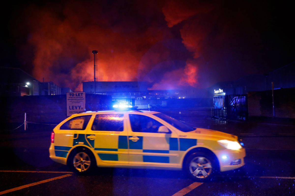Пожежа в Тоттенхемі / REUTERS