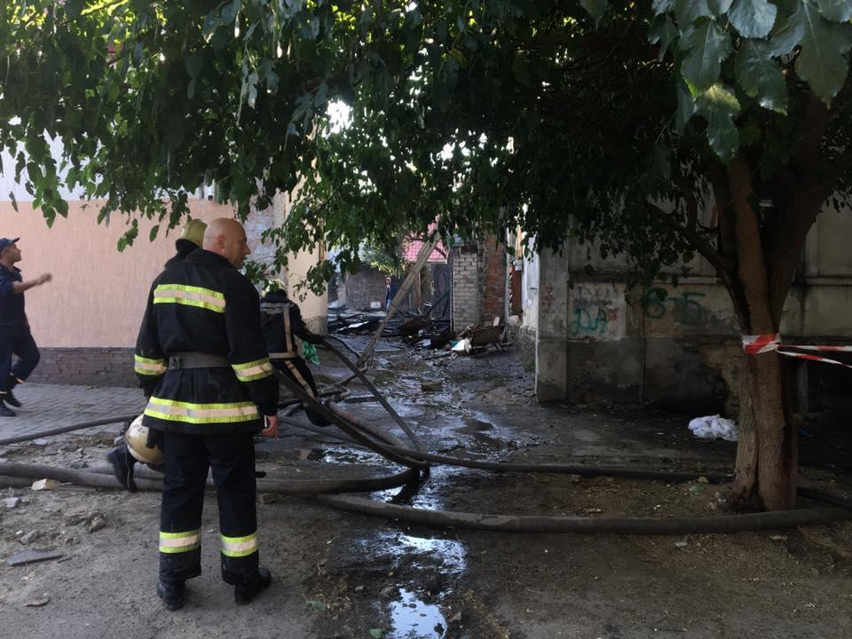 Ужасные детали пожара вХерсоне: погибла мать сдетьми
