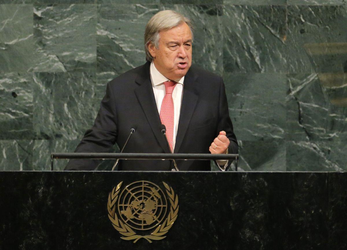 Генеральный секретарь ООН Антониу Гутерриш / REUTERS