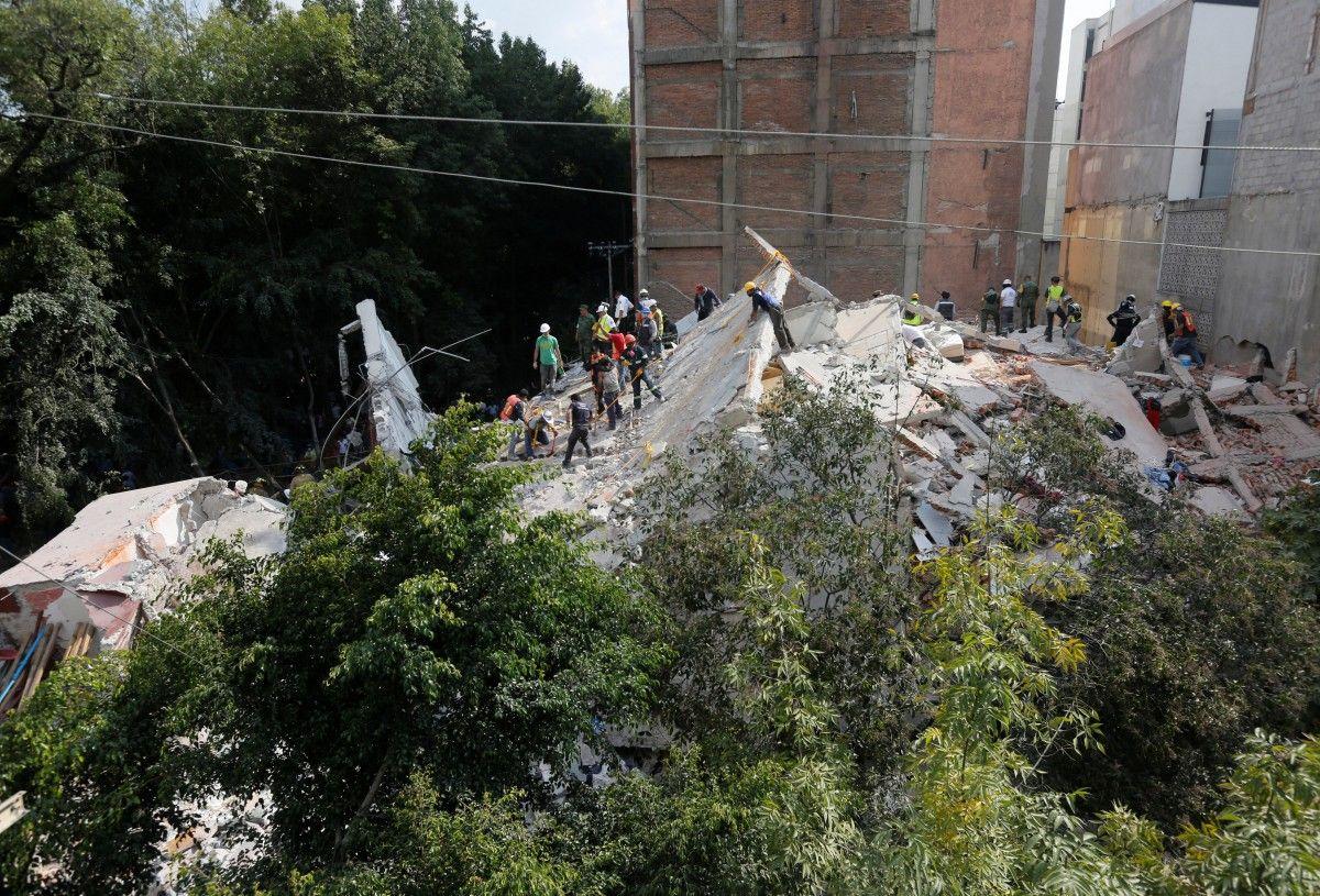 Наслідки землетрусу в Мексиці / REUTERS