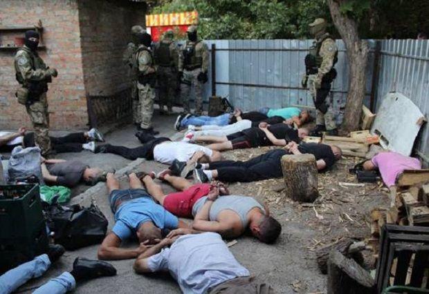 Среди задержанных – жители трех областей, несколько из них имеют статус