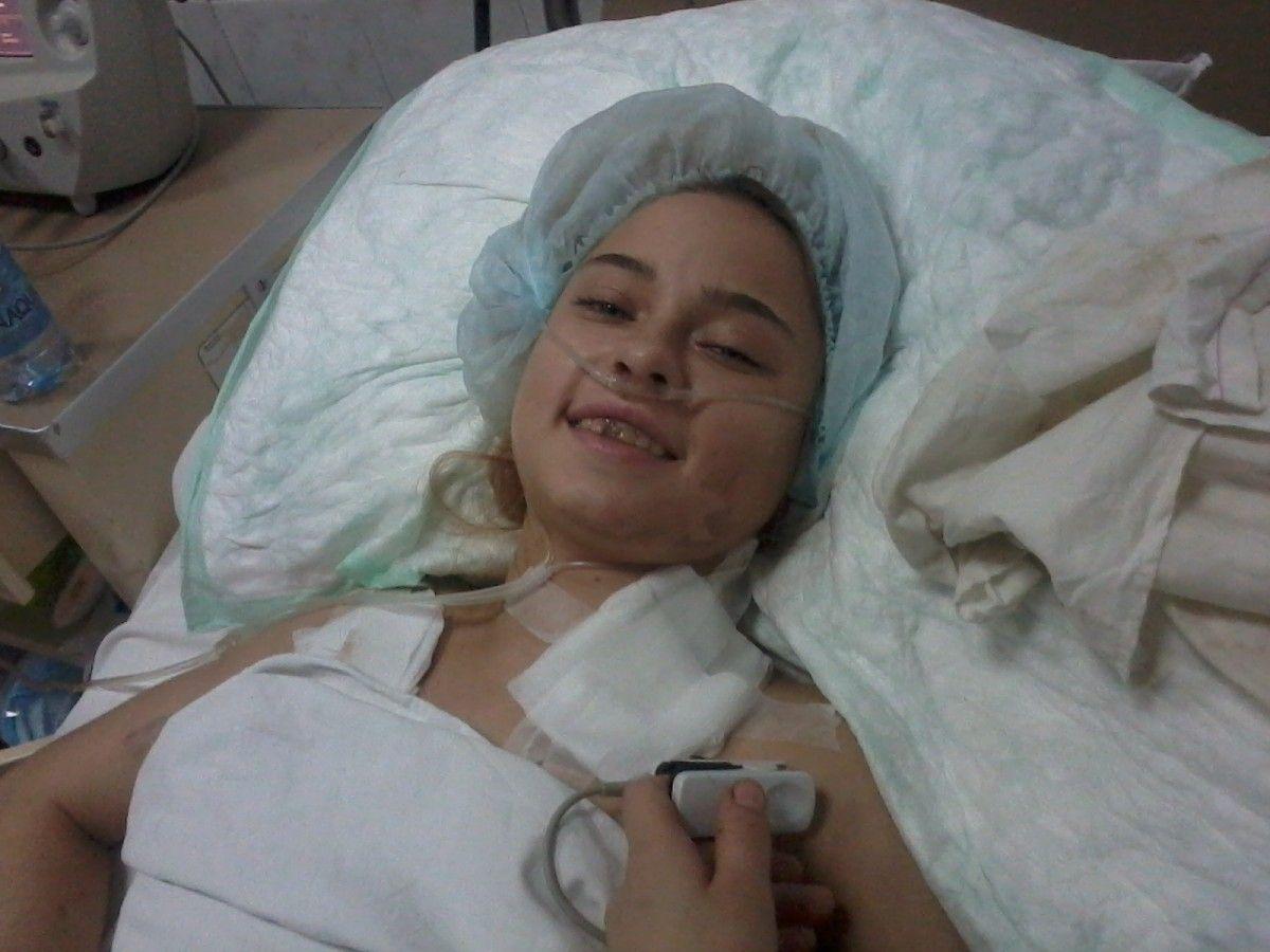 У Оксаны Кононец – травма шейного отдела позвоночника / фото УНИАН