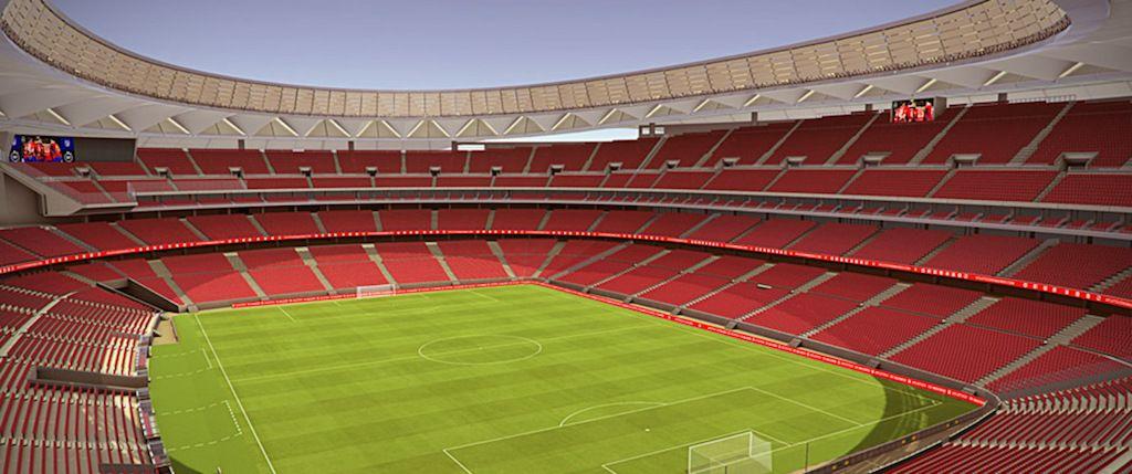 Новый стадион в Мадриде примет финал Лиги чемпионов / Digital AV Magazine