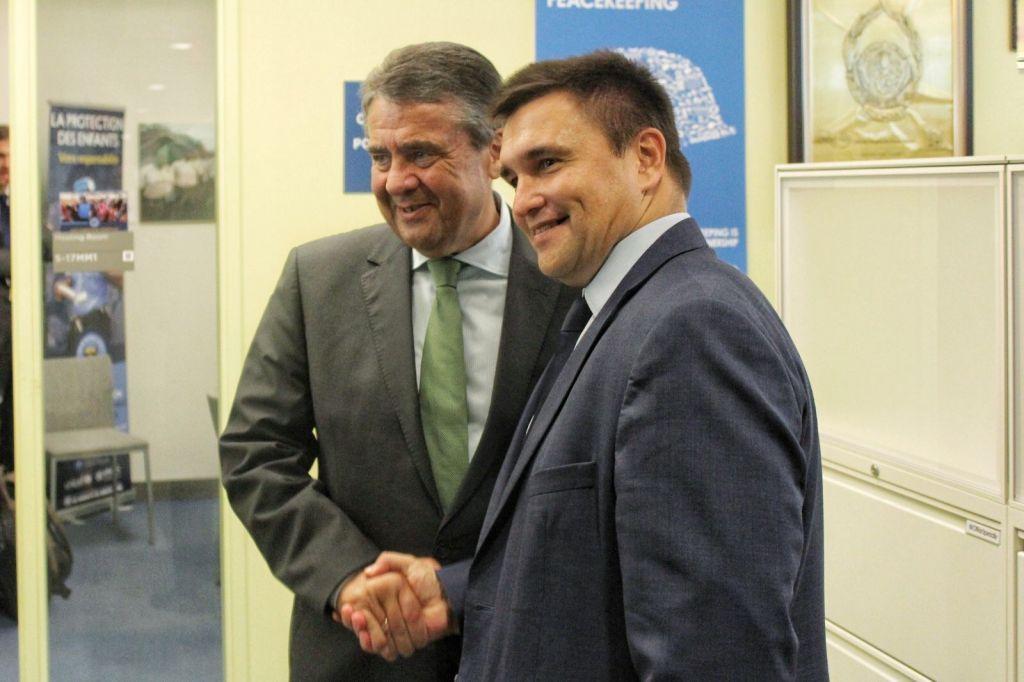 Климкин встретился с Габриэлем / фото mfa.gov.ua