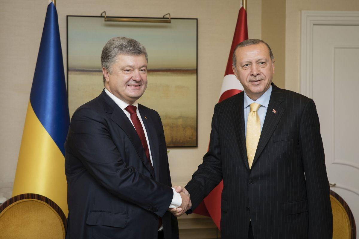 Порошенко зустрівся з Ердоганом / фото president.gov.ua
