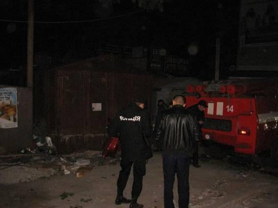 В Умани ночью прогремел взрыв / ГУ Нацполиции