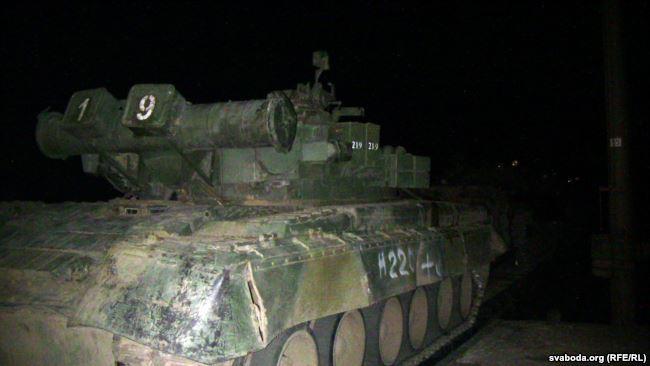 На станції Верайци перебувають близько 50 танків різної модифікації \ радіо Свобода