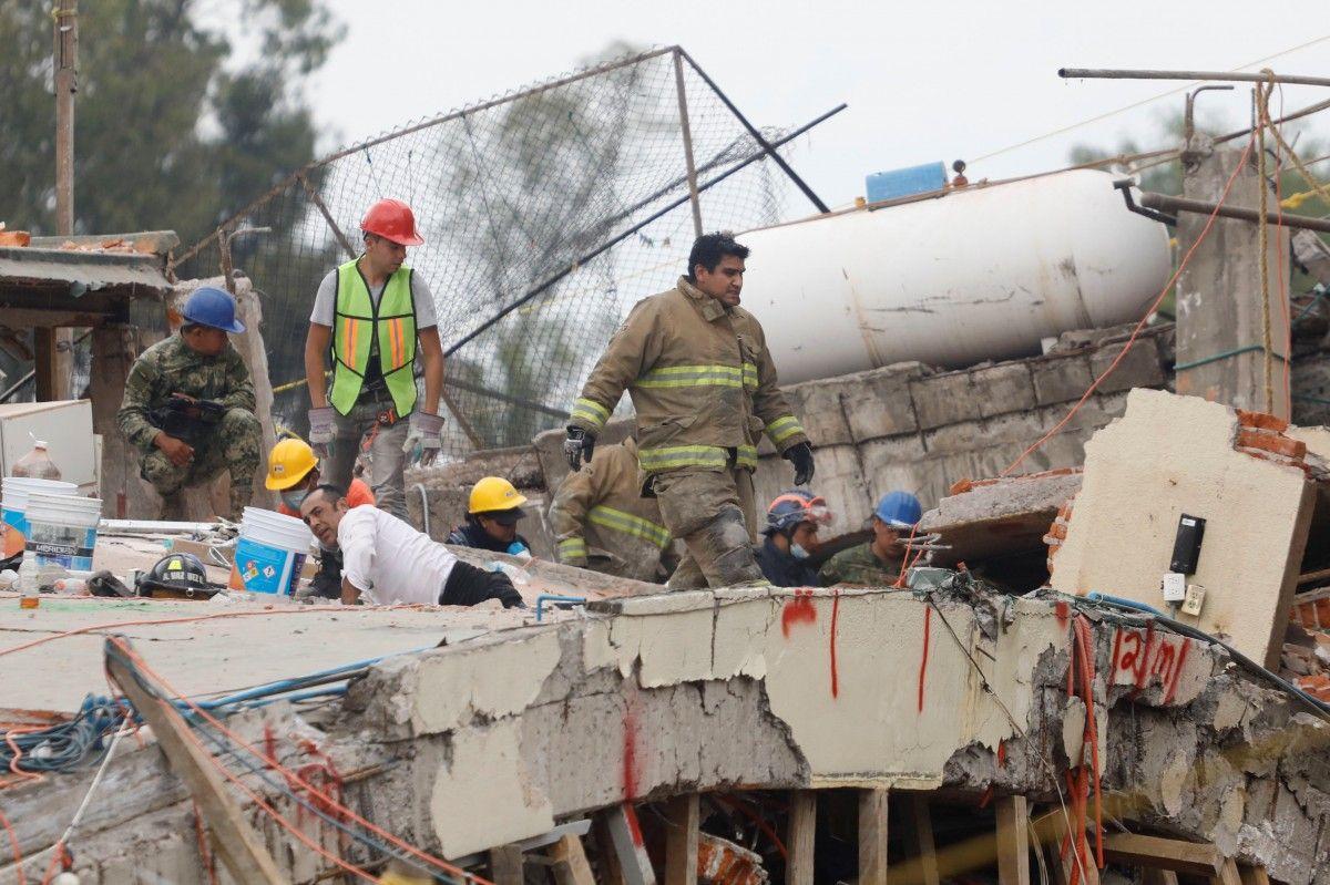 Землетрясение в Мексике забрало не меньше 240 жизней / Reuters