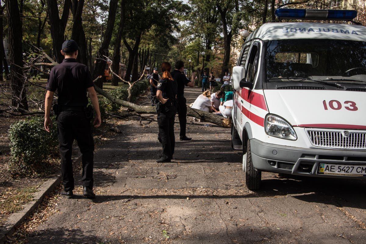 Врачи в течение 20 минут пытались реанимировать пострадавшую / dp.informator.ua