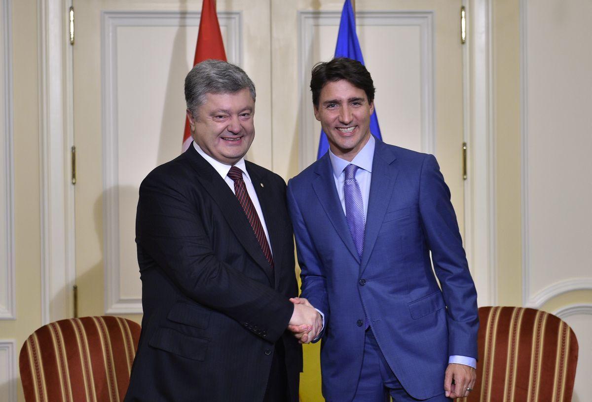 Порошенко встретился с Трюдо / фото president.gov.ua