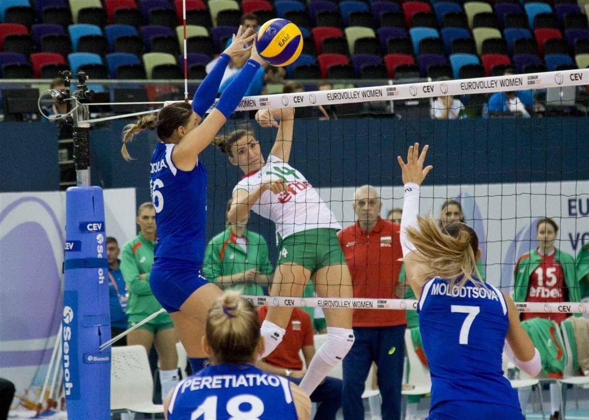 Украинки не смогли сдержать атаки сборной Болгарии / cev.lu