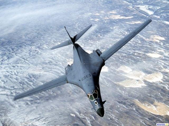 Это самая отдаленная расстояние к северу от демилитаризованной зоны для самолетов США / фото Wpapers.ru