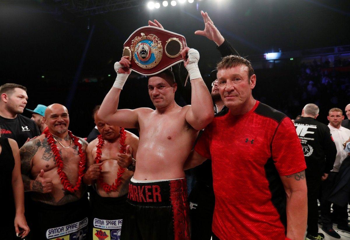 Джозеф Паркер защитил титул чемпиона мира WBO / Reuters
