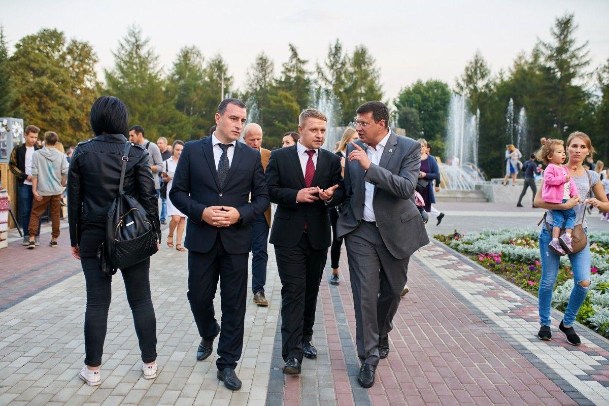 Приклад парку Перемоги в Броварах – це не тільки перемога над одиничним корупційним проявом / фото УНІАН