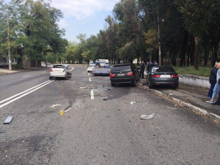 В результате столкновения водитель Chevrolet Aveo от полученных травм скончался в больнице / facebook.com/PoliceDniproRegion