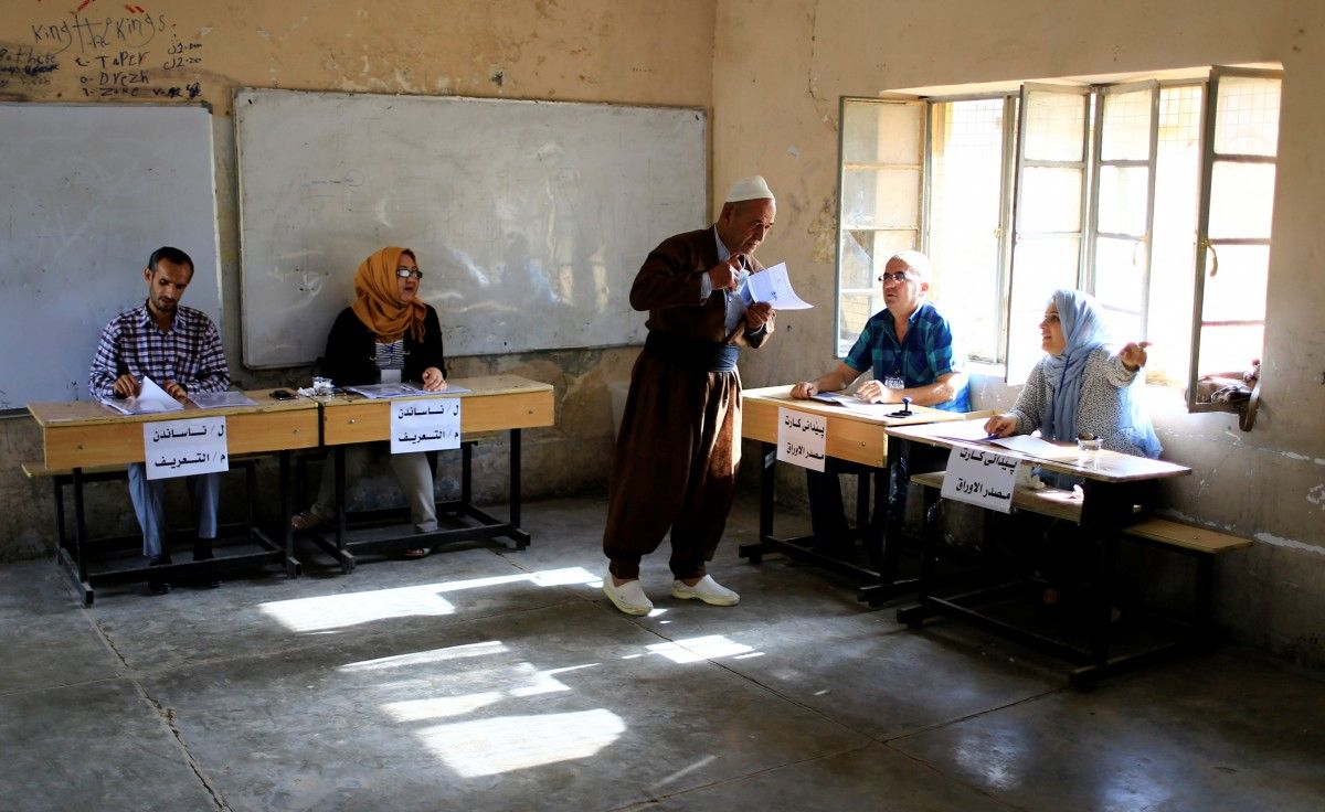 Референдум в Курдистане / REUTERS
