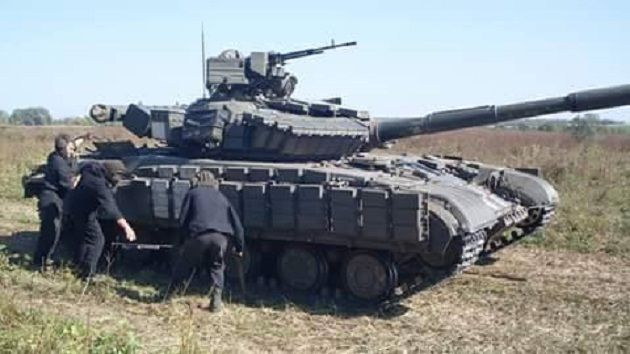 Учения прошли на одном из полигонов оперативно-тактического группировки