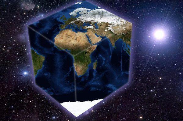 В РФ покажут фильм, посвященный конспирологической теории о плоской Земле / фото vokrugsveta.ua