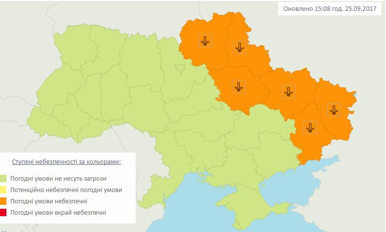 В Україні очікуються заморозки / Укргідрометцентр