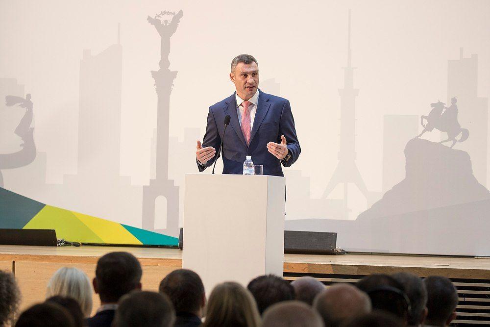 Мэр Киева отметил, что хорошо понимает, насколько важна для бизнеса стабильность / фото kievcity.gov.ua