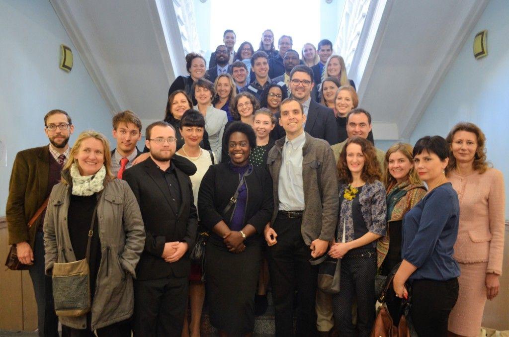 В течение 11 недель в Житомире будут работать волонтеры Корпуса Мира США / фото zt-rada.gov.ua