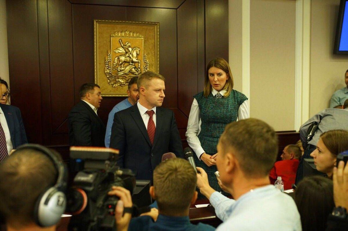 Горган прокоментував зрив сесії Київоблради / фото УНІАН