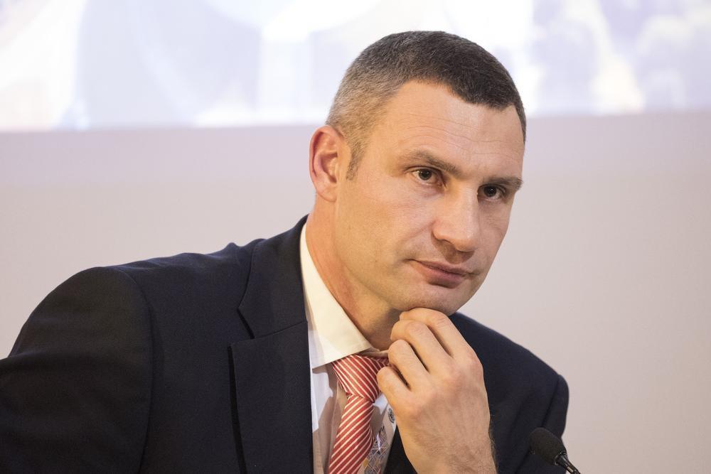 Кличко требует устранить диспропорцию для бюджета города Киева / фото КГГА