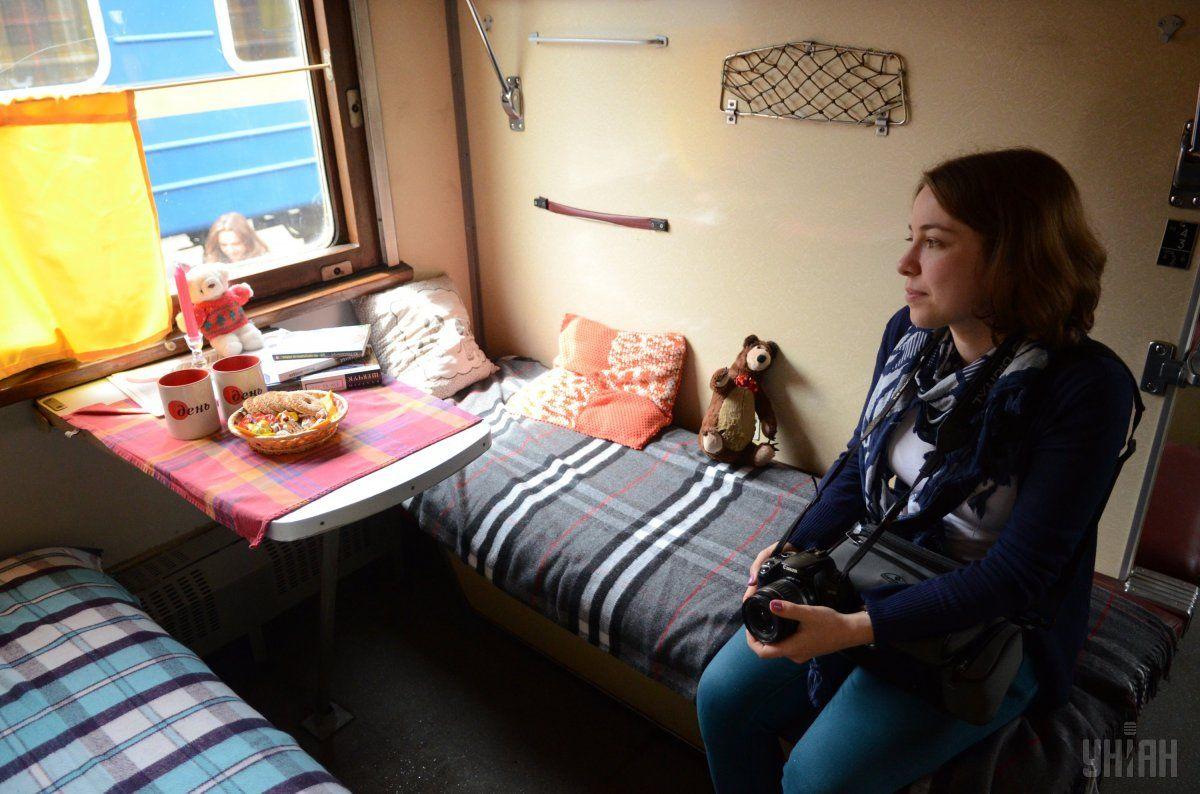 Только треть пассажирских вагонов УЗ оборудованы видеокамерами / фото УНИАН