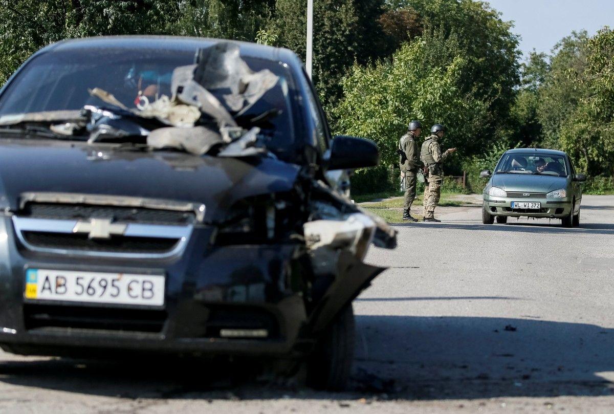 Среди установленных следствием недостатков на базе боеприпасов в Калиновке - неработающая пожарная сигнализация / dsns.gov.ua