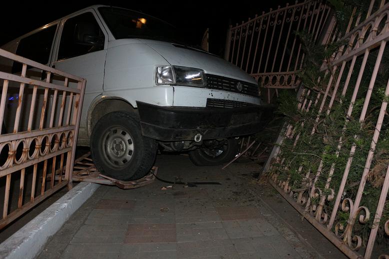 В результаті аварії завдано шкоди майну школи / pravdand.com