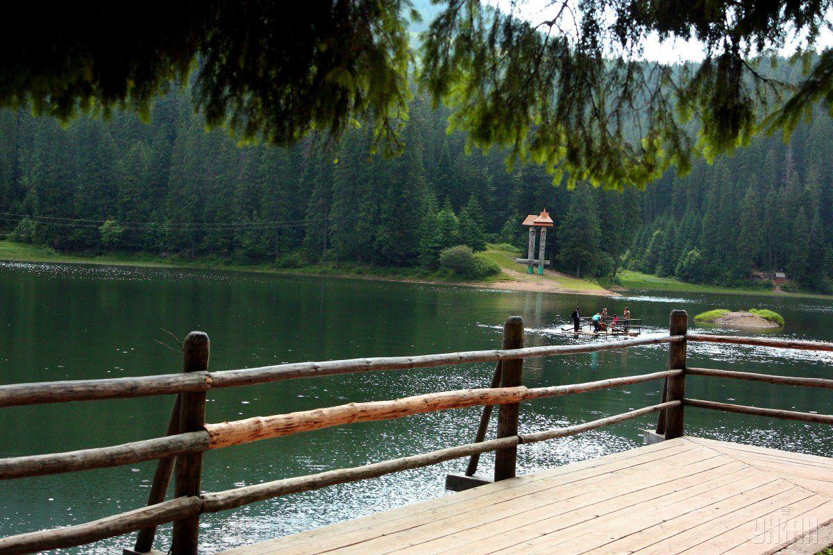 Озеро Синевір / фото УНІАН