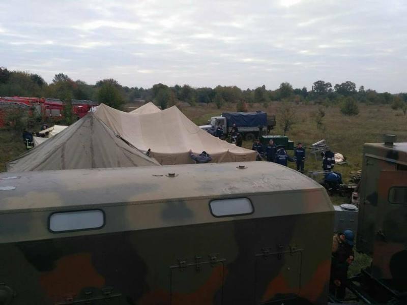 До ліквідації наслідків події залучені понад 700 військовослужбовців ЗСУ / фото УНІАН