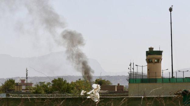 ВАфганістані обстріляли аеропорт після прибуття міністра оборони США