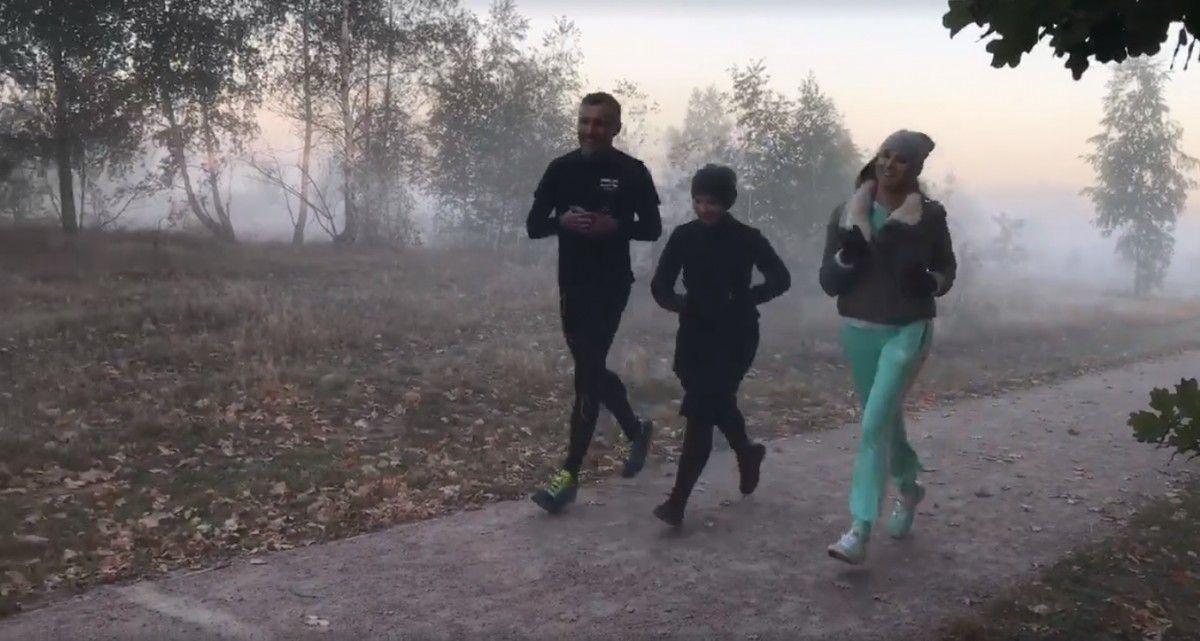 Юлия Тимошенко наспор пробежала неменее 10 километров