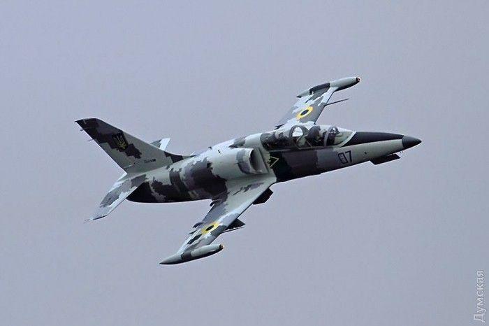 Під Хмельницьким впав військовий літак / фото dumskaya.net